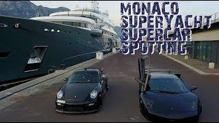 Monaco SuperYacht & SuperCar Spotting