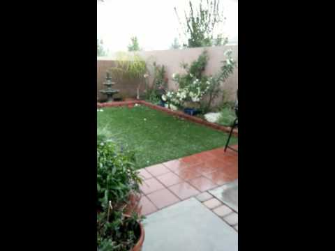 Storm over Las Vegas. Rain, hail and lightning rocked the Valley!