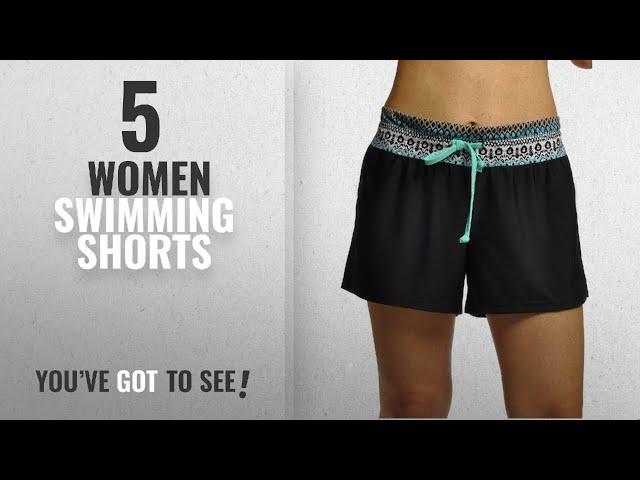 9aabd8c033 Top 10 Women Swimming Shorts [2018]: OUO Women's Casual Boy Leg Swim Shorts  Mini Swim Shorts - YouTube