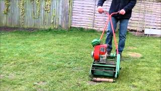 Qualcast Suffolk Colt - Vintage Lawn Mower -