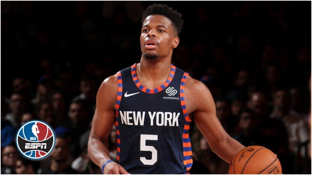 Dennis Smith Jr. helps Knicks snap 18-game home losing skid vs. Spurs | NBA Highlights