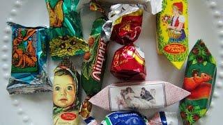 ASMR: Russian & Polish Candy   Русские конфеты   Polskie słodycze   Eating Sounds