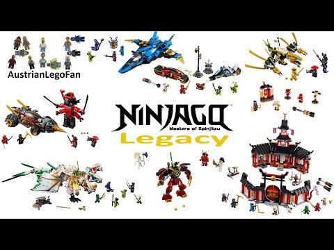 All Lego Ninjago Legacy Sets Winter 2018-2019 Compilation - Lego Speed Build Review