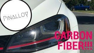 homepage tile video photo for Carbon Fiber Eyelids on my VW MK7 GTI