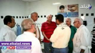 محافظ أسوان يزور مستشفى أبو سمبل الدولي .. فيديو وصور