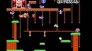 Donkey Kong Jr - NES - User video