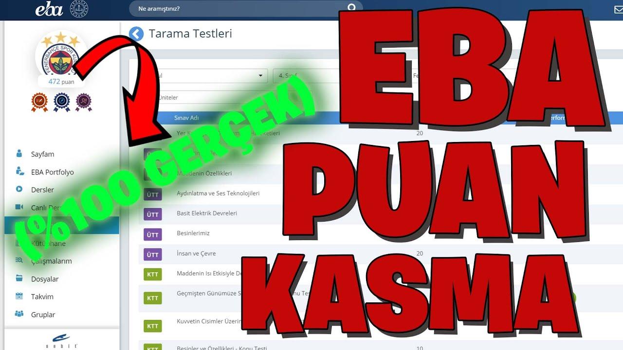EBA TEST CEVAPLARIM !! | #2 (2020)