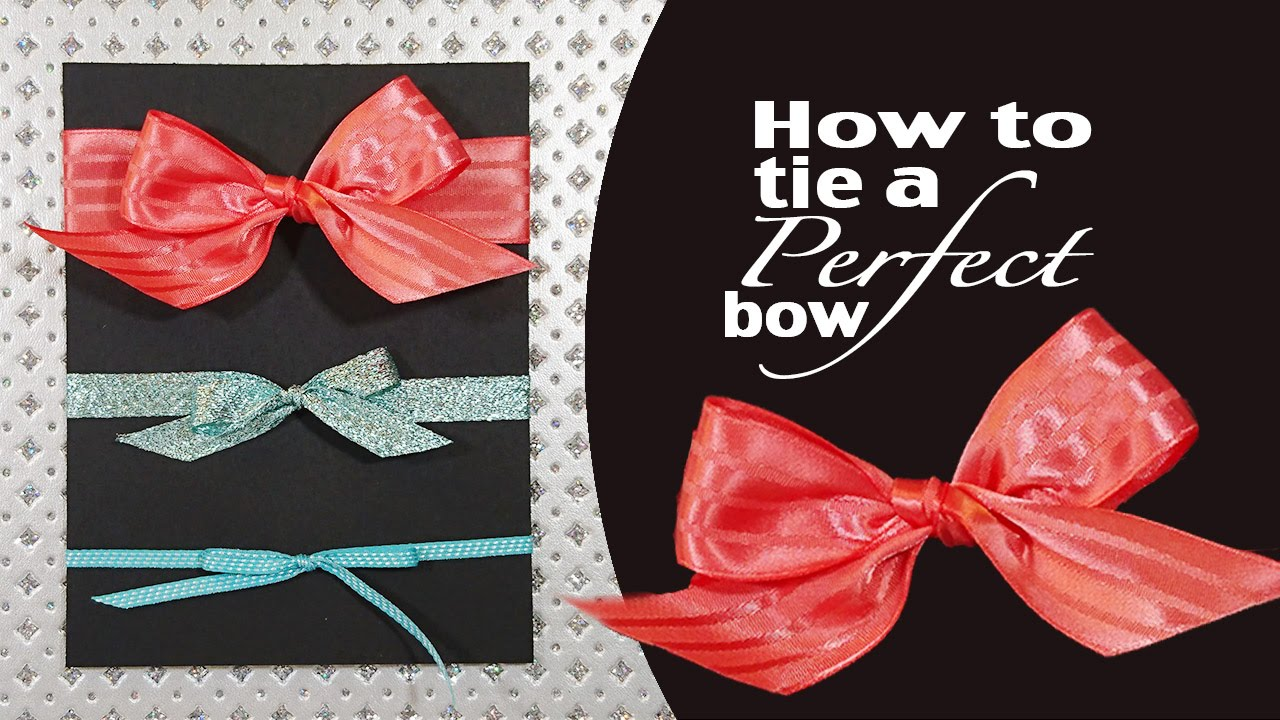 Stamping Jill - How to tie a Perfect Bow