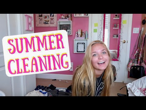 SUMMER CLEANING, CLEAN WITH ME | GRACE TAYLOR