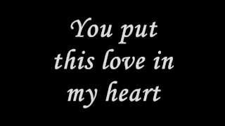 You put this Love in my heart lyrics - Keith Green