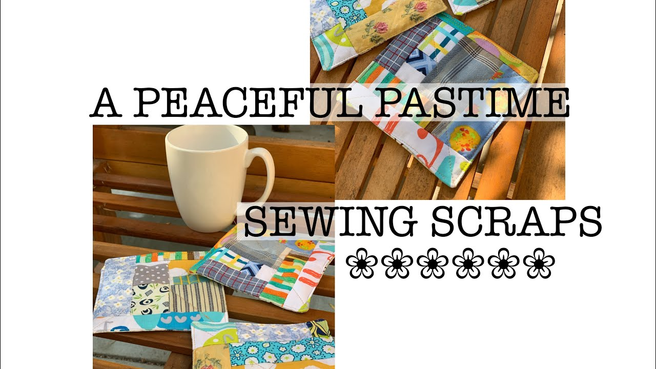 peaceful pastime-sew along with me-use all the tiny scraps
