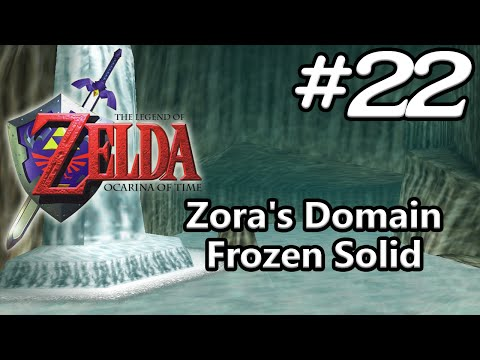 Ocarina Of Time N64 100% - Episode 22 - Zora's Domain Frozen Solid