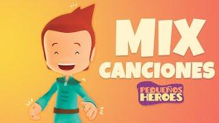 MIX CANCIONES NUEVAS DE PEQUEÑOS HEROES 🎤🐑 | Canciones Infantiles