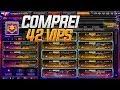 COMPREI 42 VIPS NO CROSSFIRE | 100 MIL REAIS !