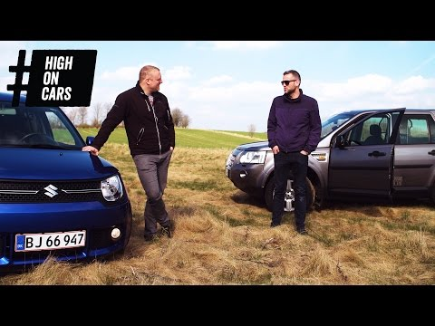 Race: Suzuki Ignis Allgrip vs. Land Rover Freelander