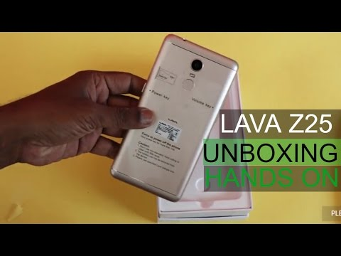 Lava Z25 Unboxing | First Impression | Hands On