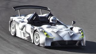 400hp Dallara Stradale Accelerations and Fast Driving on Track!