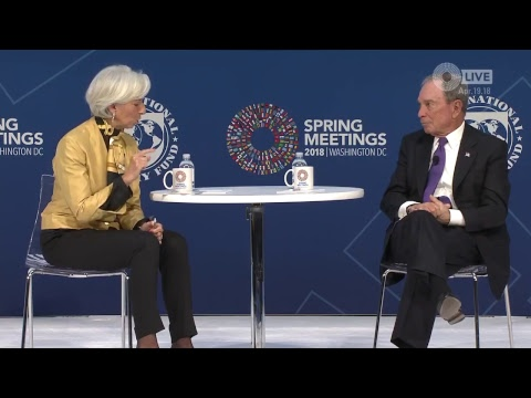 One-on-One with Christine Lagarde, Featuring Michael Bloomberg