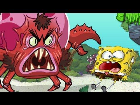 SpongeBob SquarePants Full Game - Monster Island - Games for Kids
