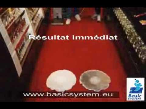 Nettoyage et entretien moquette basic system youtube for Nettoyage moquette