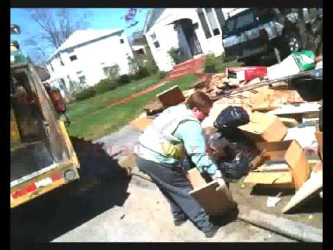Waste Management Cleans Up Cranston, RI After Flood
