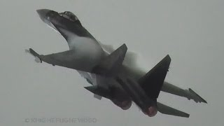 Sukhoi Su-35S Super-Flanker Extreme Flight Demonstration incl. Insane Kulbit Maneuver!!!