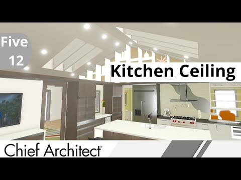 4. FIVE-12 KITCHEN - Custom Kitchen Ceiling Options