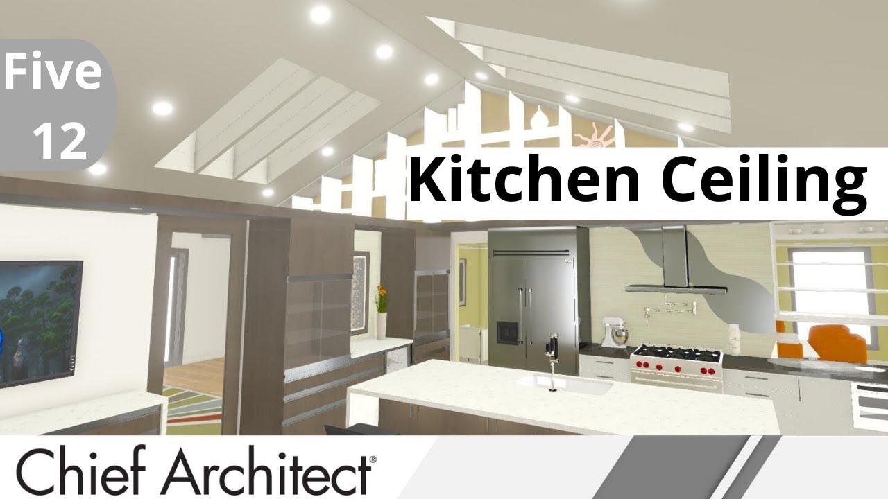 4. FIVE-12 KITCHEN - Custom Kitchen Ceiling Options - YouTube