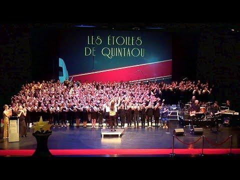 Musiques de cinéma, spectacle chorales : Les étoiles de Quintaou, 5 mai 2018