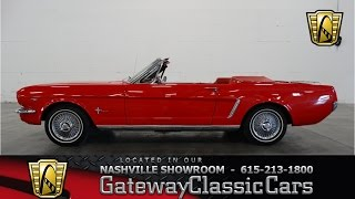 1964 1/2 Ford Mustang Convertible- Gateway Classic Cars of Nashville #23