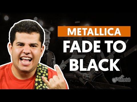 Fade To Black - Metallica (aula de guitarra)