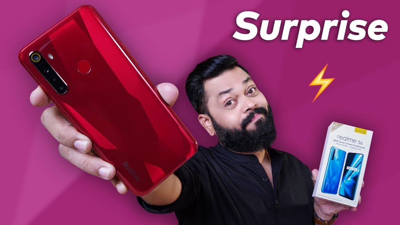 Download REALME 5s Unboxing, First Impressions & Giveaway ⚡ Worthy Upgrade Or NOT?