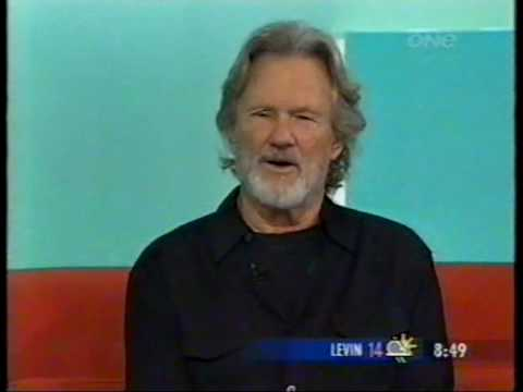 Kris Kristofferson interview on New Zealand television