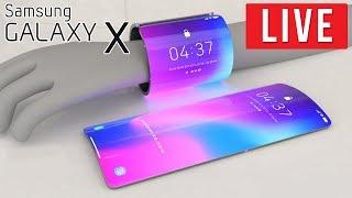 Składany Galaxy X - PREMIERA NA ŻYWO - Na żywo