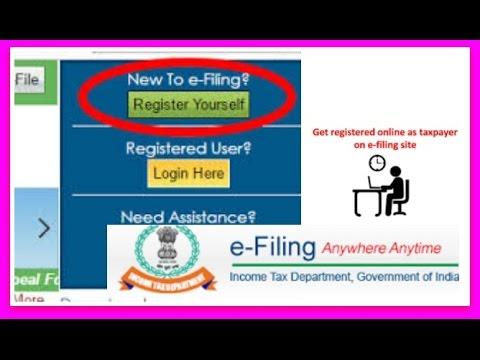 How To Register And Login On Income Tax Efiling Website To File Income Tax Return Or ITR