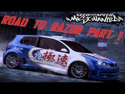 Pure racing (Road to Razor Part 1) NFS Most Wanted 2005 Gameplay Part 16