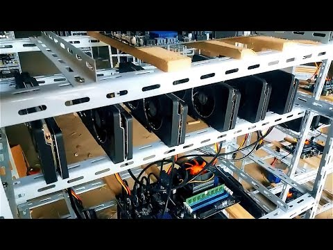 Chinese gpu farm | Mining bitcoin & ethereum