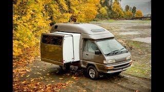 SALE REVIEW: 1990 Toyota CAMPMATE 4wd Diesel JDM Camper Van // by VANLIFE NORTHWEST