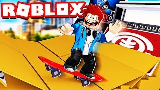 MAKING 1 000 000 SKATEBOARD RADICAL MANEUVERS (skateboard Simulator) ROBLOX