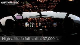 How Does A Boeing 737 Handle On A Full Stall?
