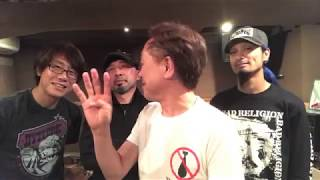 5月12日から始まる34周年ワンマン、東名阪のライブでニューロティカから...