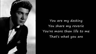 Paul Anka - You are my destiny (Lyrics)