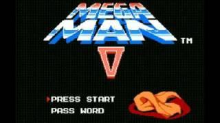 Mega Man 5 (NES) Music - Star Man Stage