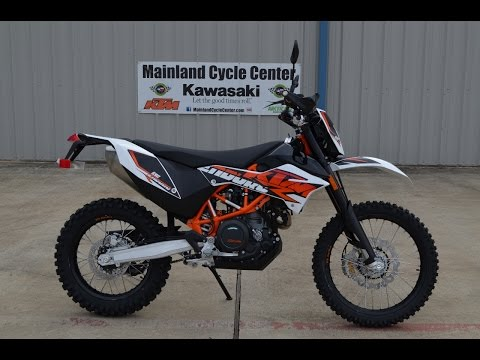 $10,499:  2015 KTM 690 Enduro R ABS Overview and Review