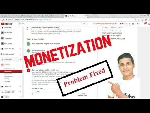 After 10k Views Monetization not Enable | Monetization Problem Fixed