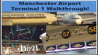 Manchester Airport Terminal 1 walkthrough!