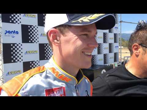 Ben Hanley (Croc Promotions / TM Racing) second position CIK-FIA European OK Champs R3, Portimao