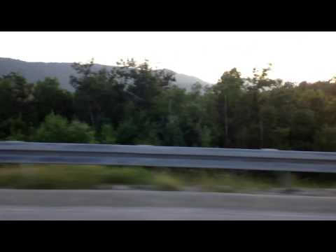 TimeLapse on A1 highway in Croatia