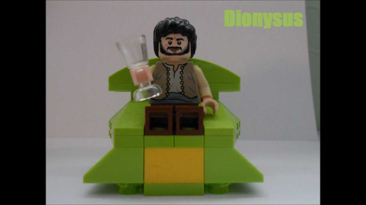 LEGO Percy Jackson set - Throne of the gods - Skillet ...  Lego Percy Jackson Luke