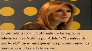 ¡SALEN DE TELEVISA, NOTICIEROS DE BROZO, ADELA MICHA Y LOLITA AYALA!